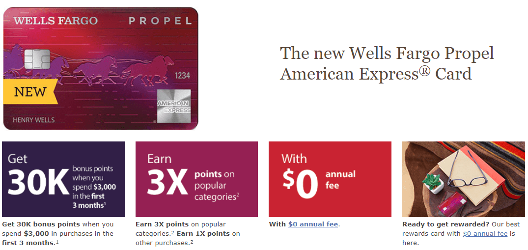 Revamped Wells Fargo Propel American Express Card is Now Live