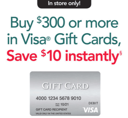 Office Depot Visa Gift Card Deal