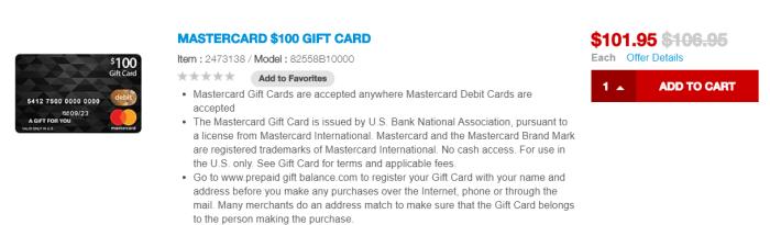 staples mastercard deal