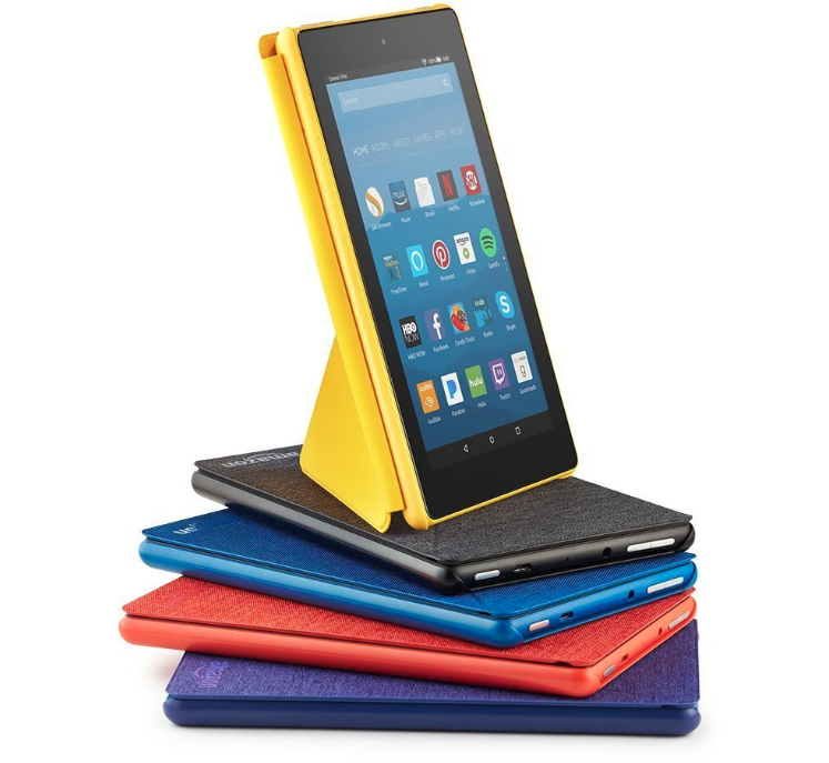 Discounted Amazon Fire 7 Tablets and Kindles