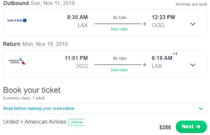 cheap flights to Hawaii