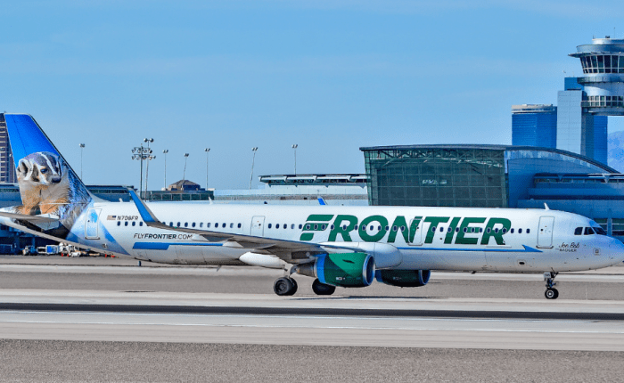 frontier airlines 90% off