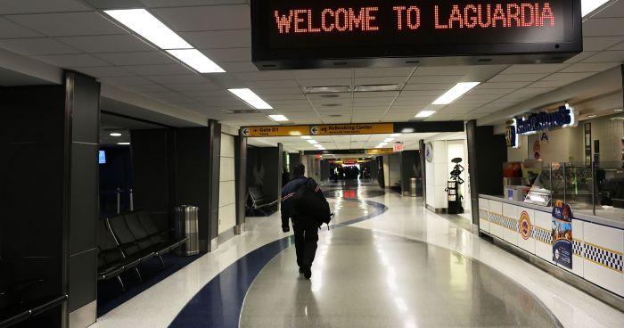 FAA Halts Flights to LaGuardia