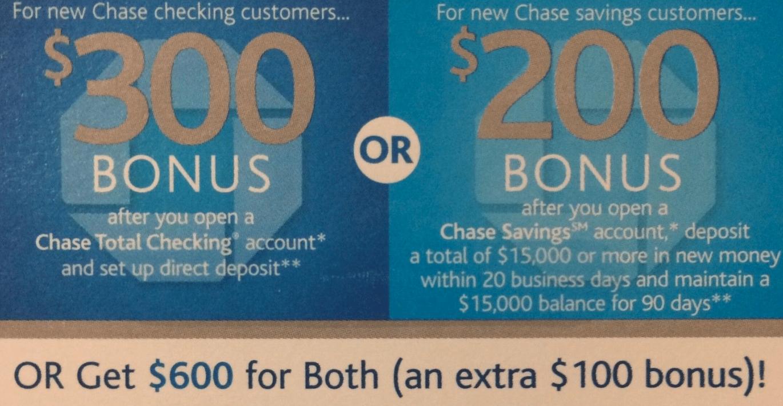 Expired] $600 Bank Bonus from Chase! - Danny the Deal Guru