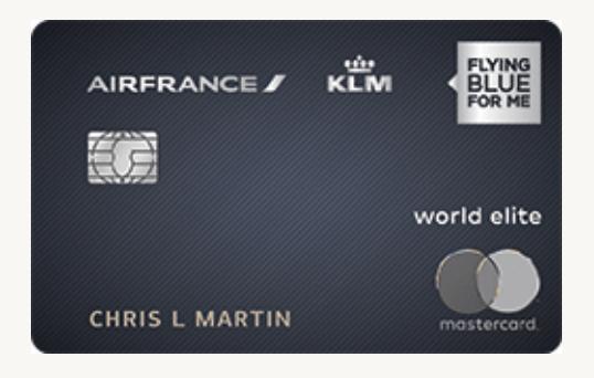 Air France KLM Card bonus
