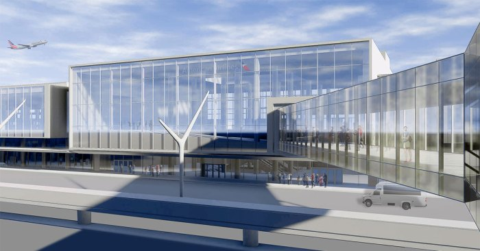 lax american airlines renovation