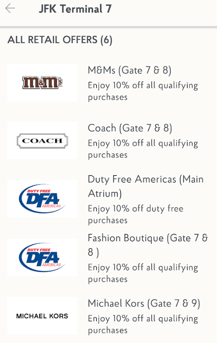 Priority Pass spending offers