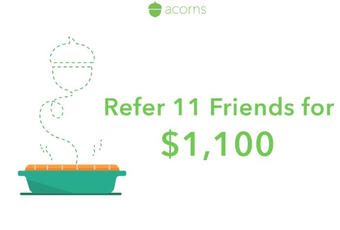 acorns signup bonus