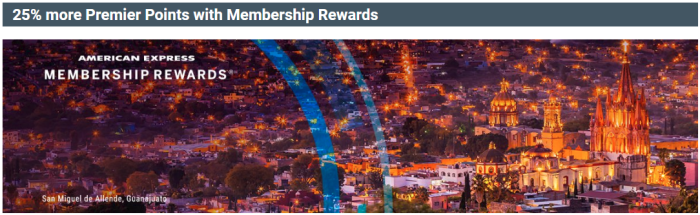 Amex Membership Rewards aeromexico transfer bonus