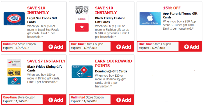 safeway gift card discounts
