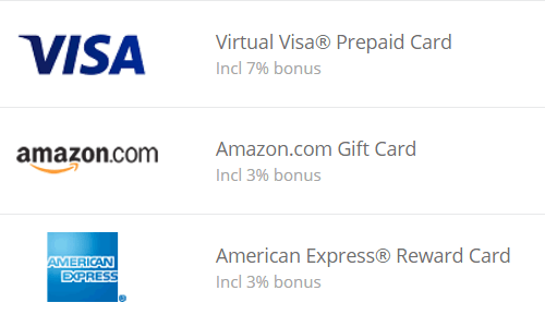 Bonus on TopCashback Payout