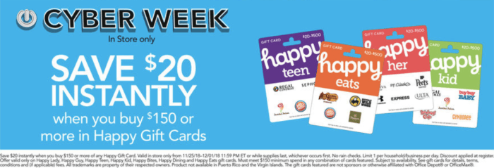 office depot happy cards google home mini