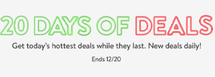Walmart's 20 Days of Deals