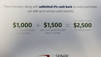Capital One Spark Business Cards Are Offering 2000 Signup Bonuses