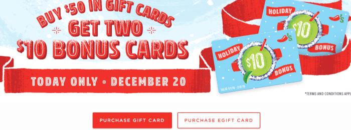 chili's gift card promo