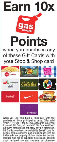 stop shop gift card deals