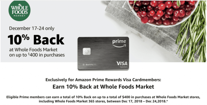 amazon whole foods 10%