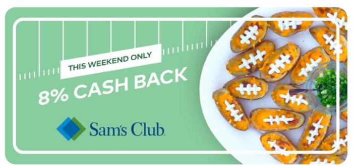 dosh sam's club cashback