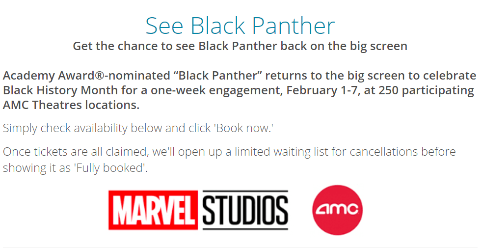 photo about Amc Printable Tickets referred to as Absolutely free Tickets in the direction of Perspective Black Panther at AMC Theaters - Danny