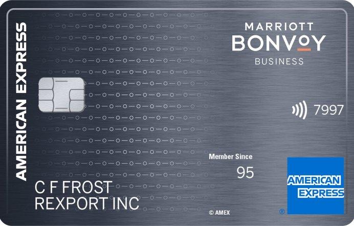 Amex Marriott Bonvoy Business Card 100K $100