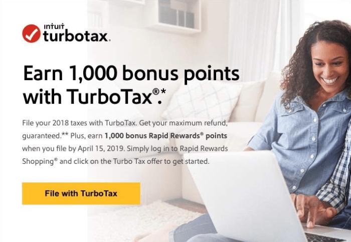 southwest turbo tax