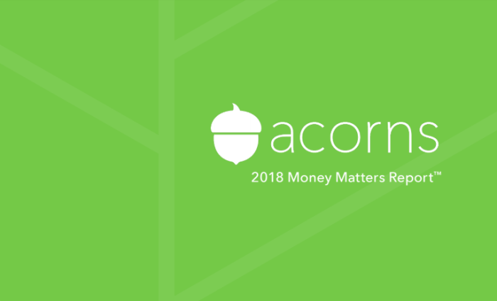 Acorns Money Matters Report
