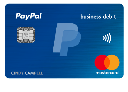 PayPal Business Debit Mastercard 2% offer