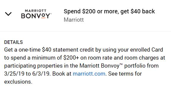 Marriott Amex Offer