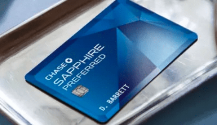 Chase Sapphire Preferred referrals offer