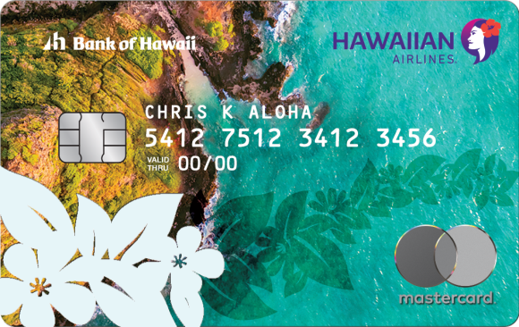 Hawaiian Airlines MasterCard 60K