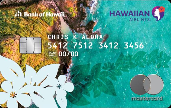 Hawaiian Airlines MasterCard 60K