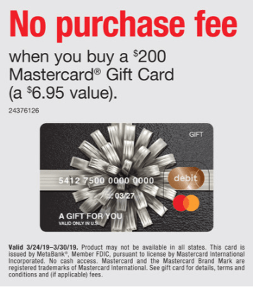 Staples Mastercard Gift Card Promotion