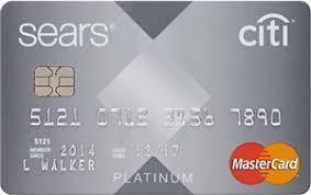 Citi Sears Mastercard offer