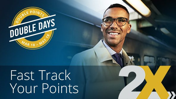 Amtrak Double Days