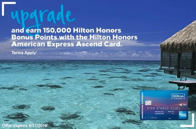 150K Upgrade Offer for Ascend Card