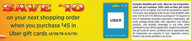 shoprite uber