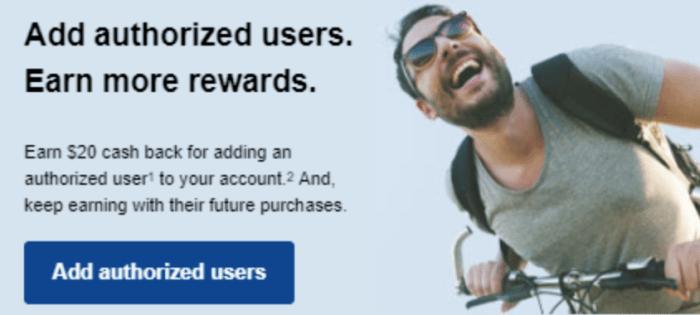 chase authorized user bonus