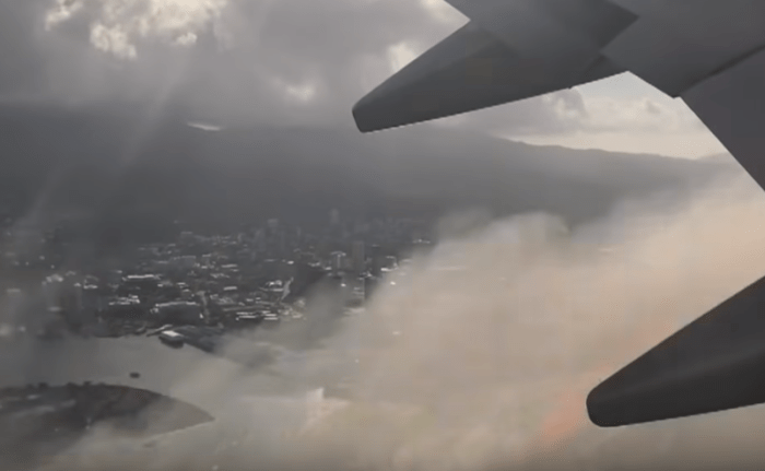 United Airlines Engine Fire