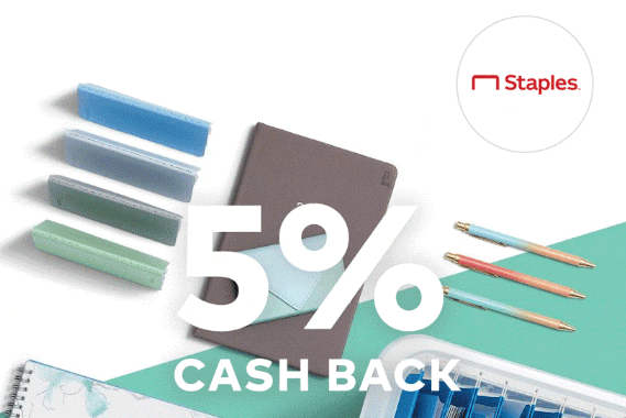 Dosh App, Get 5% Back at Staples and 6% at Dunkin