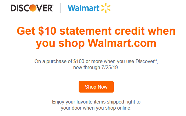 discover walmart 10