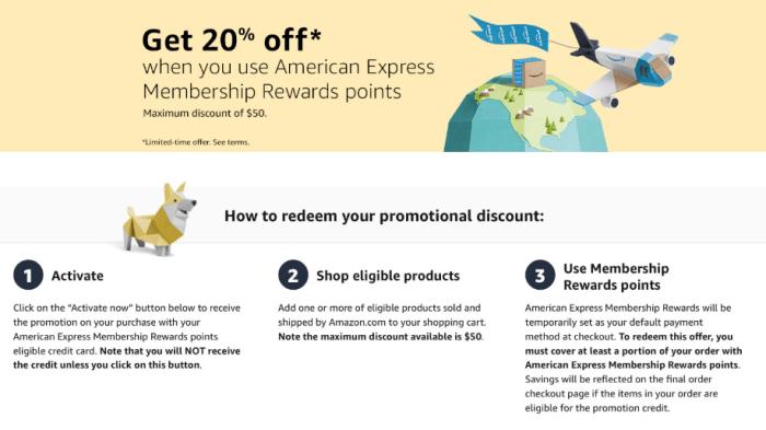 20% Discount at Amazon