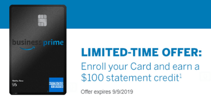 Amex Amazon Business Prime Card Spending Bonus