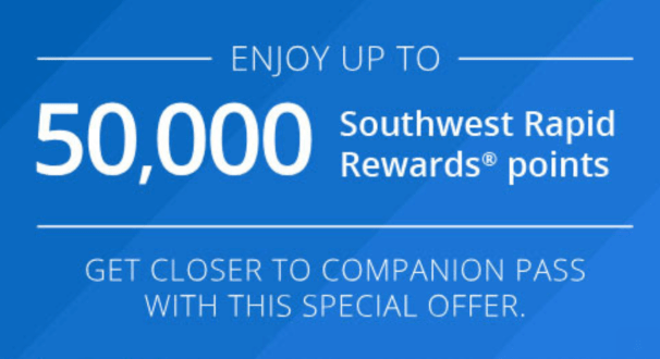 Chase Checking/Savings Bonus of 50K Southwest Points