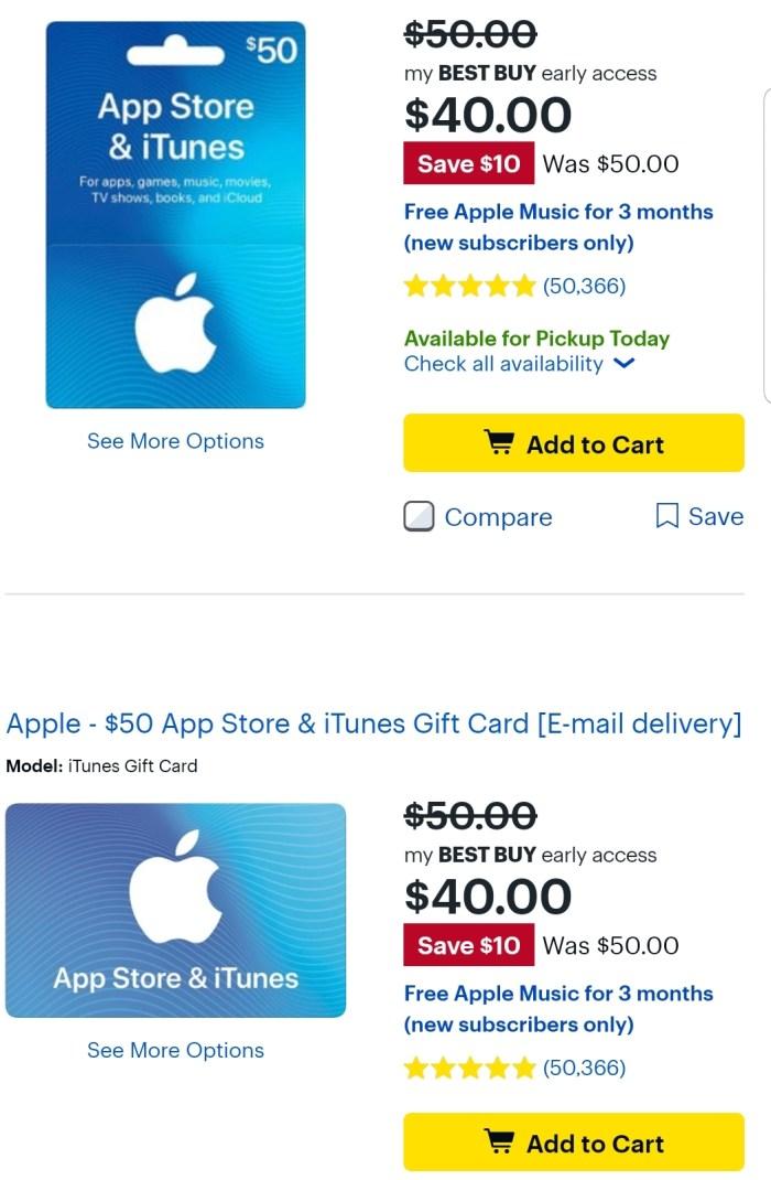 Best Buy, 20% Off iTunes Gift Cards - Danny the Deal Guru