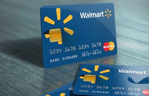 My walmart credit card capital one