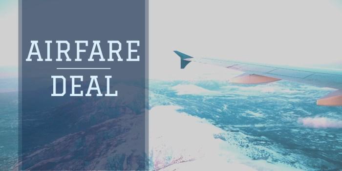 airfare deal switzerland