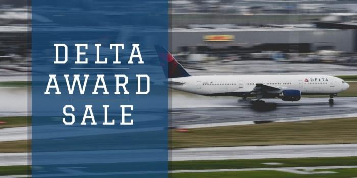 Delta Award Sale