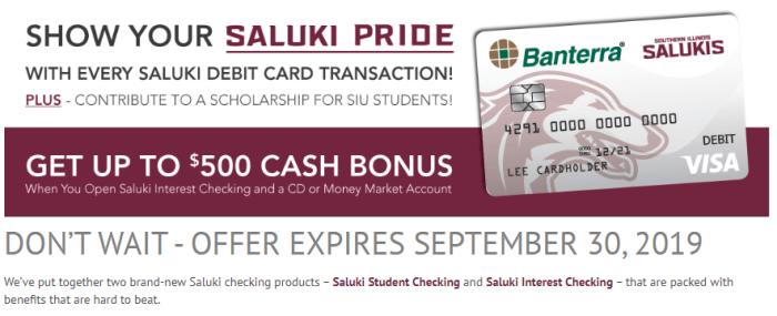 Banterra Bank Bonus