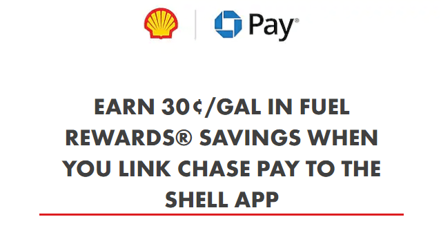 chase pay shell discount