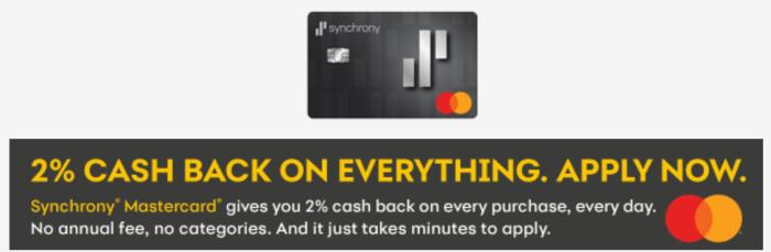 Synchrony Mastercard
